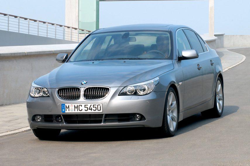 Coche del día: BMW 545i (E60)
