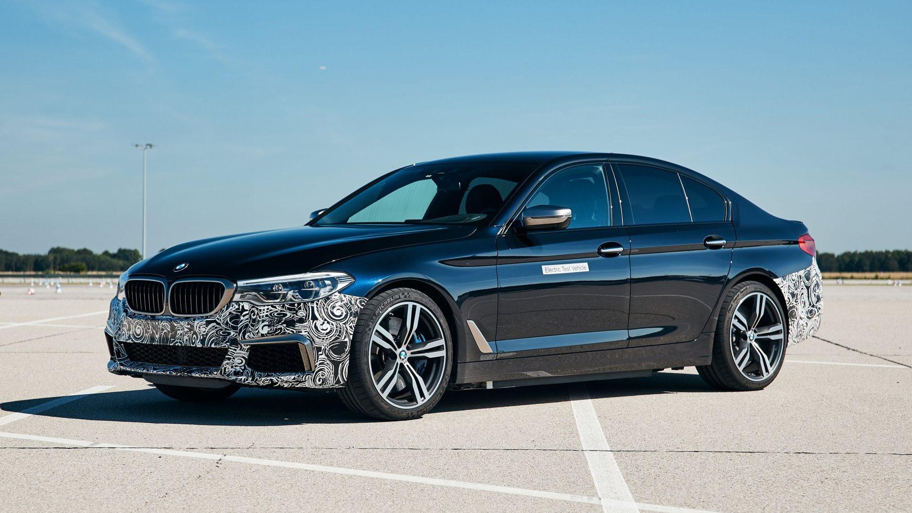 El BMW Serie 5 Power BEV es una berlina eléctrica de 720 CV