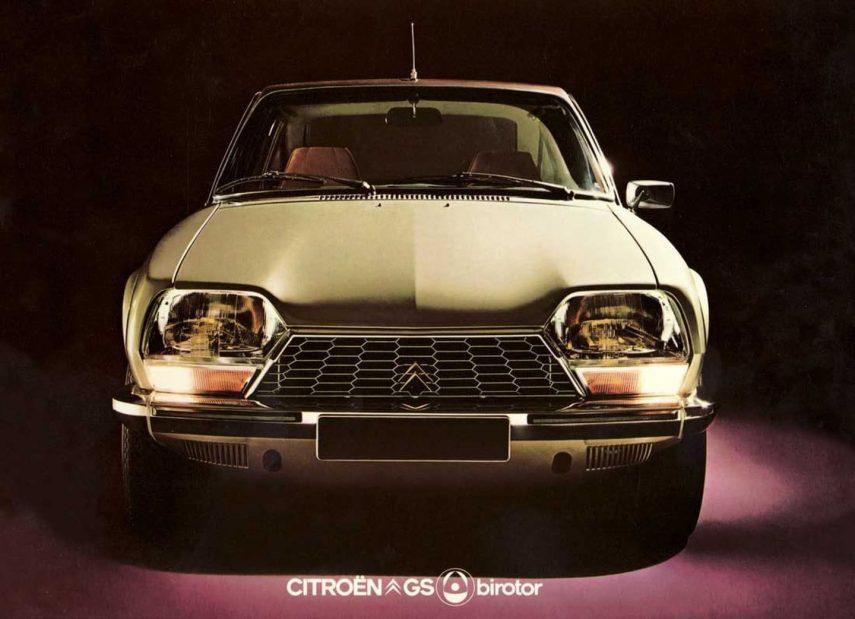 Coche del día: Citroën GS Birotor