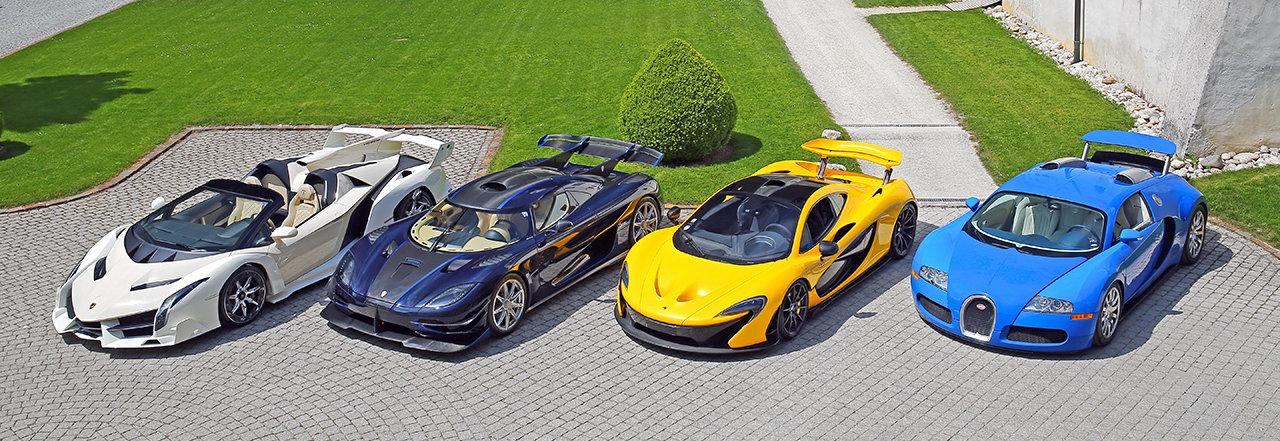 Los coches de Teodorín Nguema Obiang serán subastados en Ginebra
