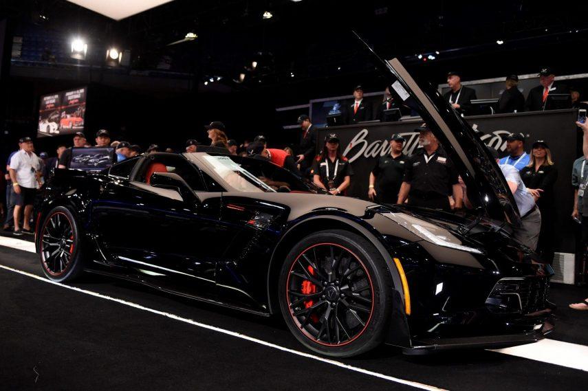 El último Chevrolet Corvette C7 ha sido subastado por 2,37 millones de euros