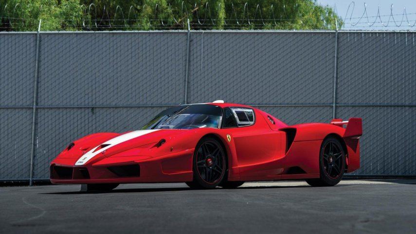 Un exclusivo Ferrari FXX saldrá a subasta este verano