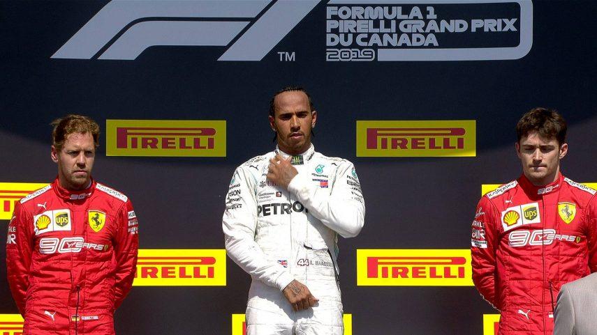 GP de Canadá: Hamilton vence por sanción a Vettel, que termina segundo
