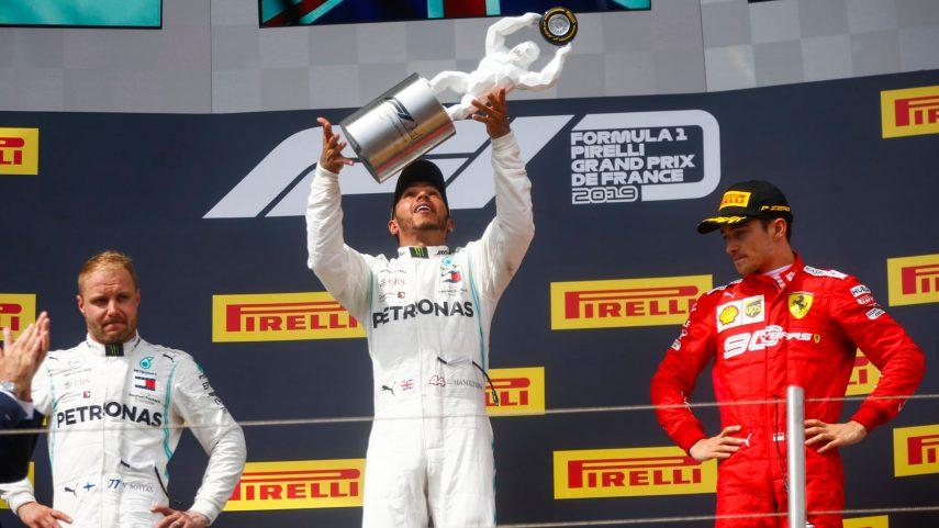 GP de Francia: Otro aburrido doblete de Mercedes