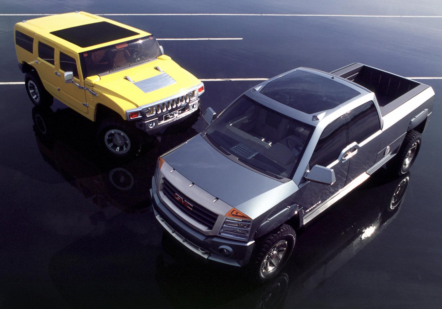 Hummer H2 SUV Concept Y GMC Terradyne Concept