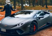 Lamborghini Huracan Performante Youtuber