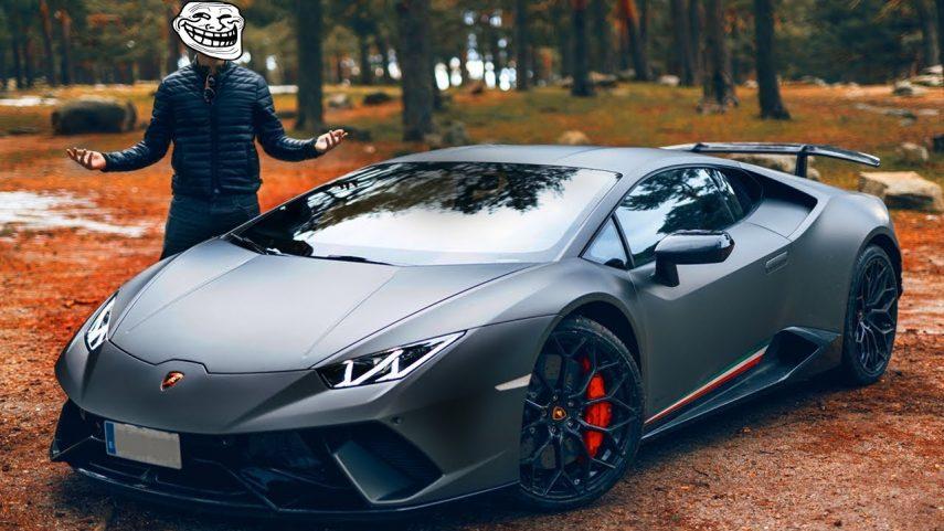 ¿A quién cazaron con un Lamborghini Huracán a 228 km/h? A @Alphasniper97 no