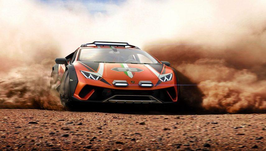 Lamborghini Huracán Sterrato Concept, el superdeportivo de las pistas de tierra