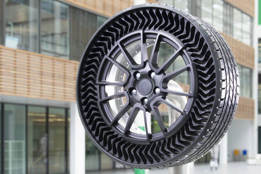 Michelin UPTIS, una nueva generación para crear un neumático sin aire