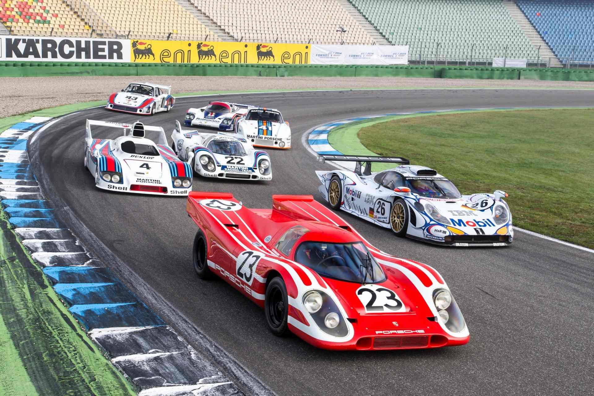 El Porsche 917 está de cumpleaños