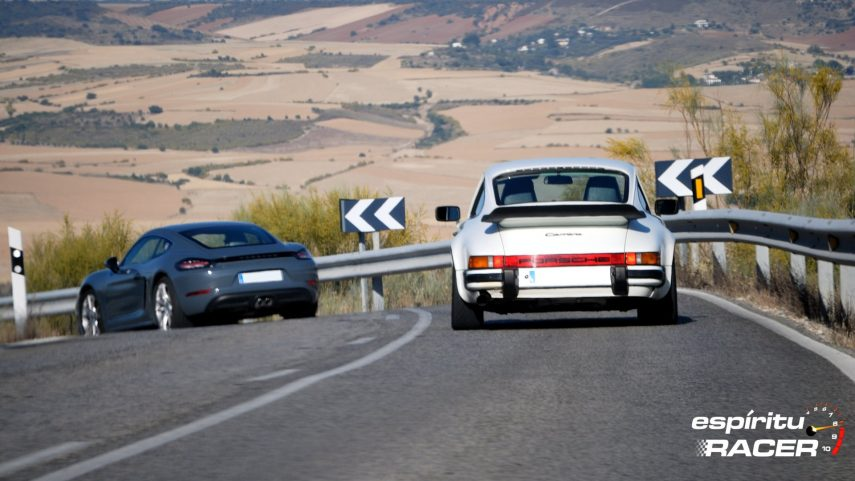 A lomos de un Porsche, toda ruta sabe bien