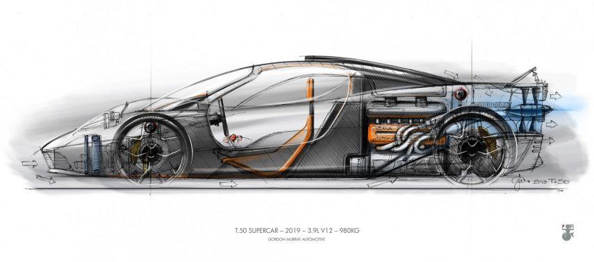 T.50, un McLaren F1 renovado verá la luz en 2022