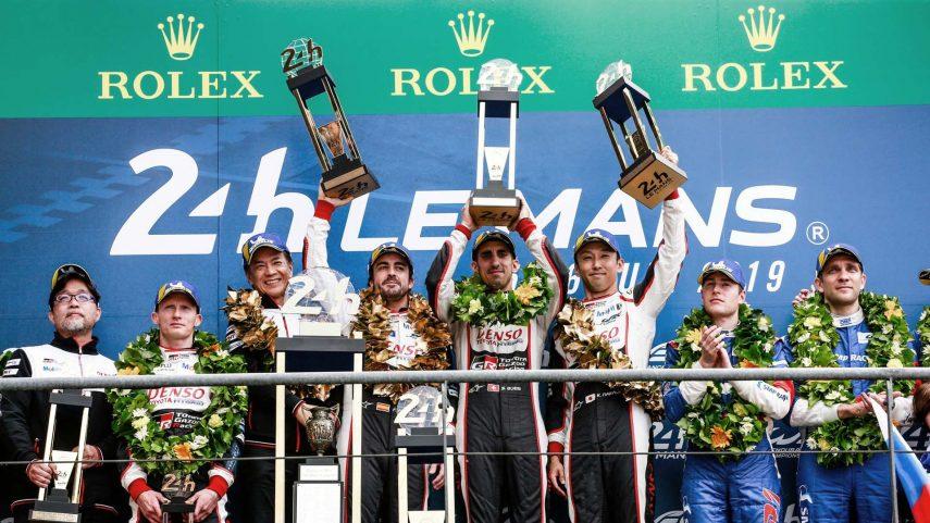 WEC: Fernando Alonso, vencedor en las 24 horas de Le Mans y campeón del mundo de resistencia