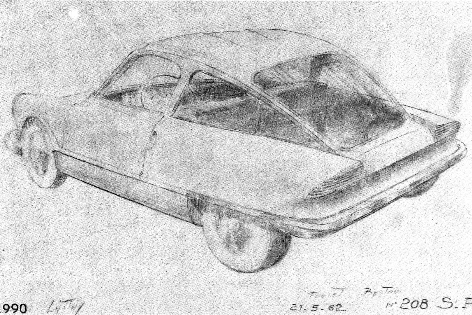 Progetto S Flaminio Bertoni 1962 jpg