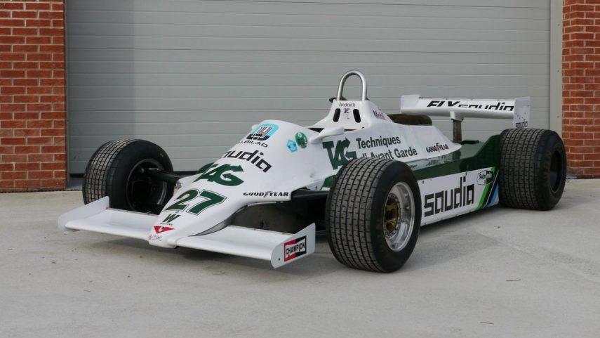 Si quieres un Williams FW07 auténtico, esta puede ser una buena oportunidad