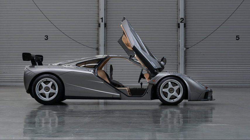 A subasta uno de los dos McLaren F1 LM con especificación de carretera