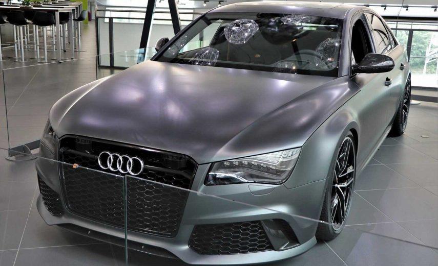El Audi RS8 fabricado que jamás llegó a las calles