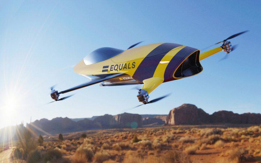 Airspeeder: el nuevo campeonato de carreras de coches voladores