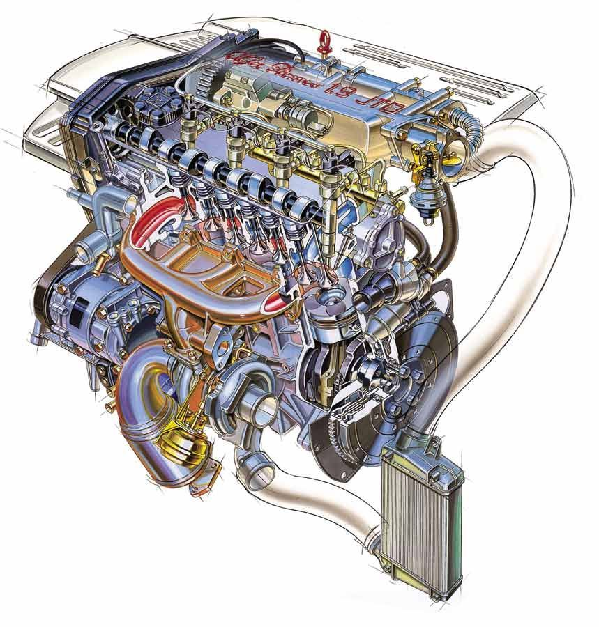 Alfa Romeo Motor 1900 JTD