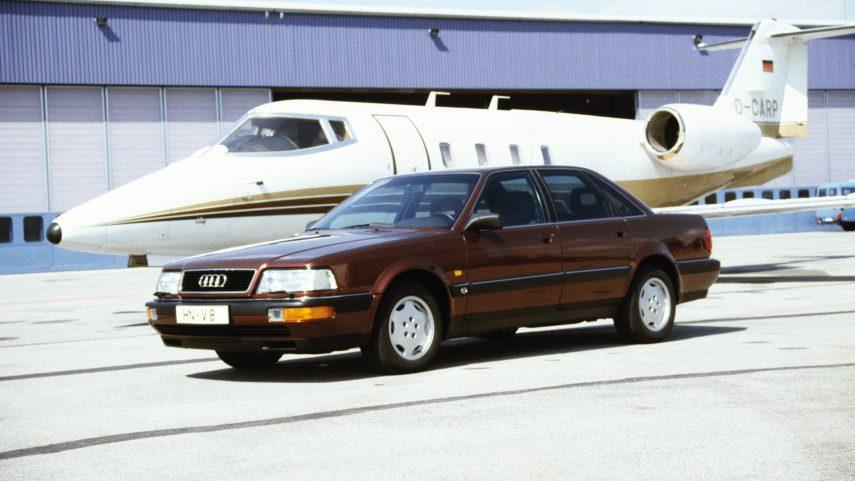 Coche del día: Audi V8 (4C)