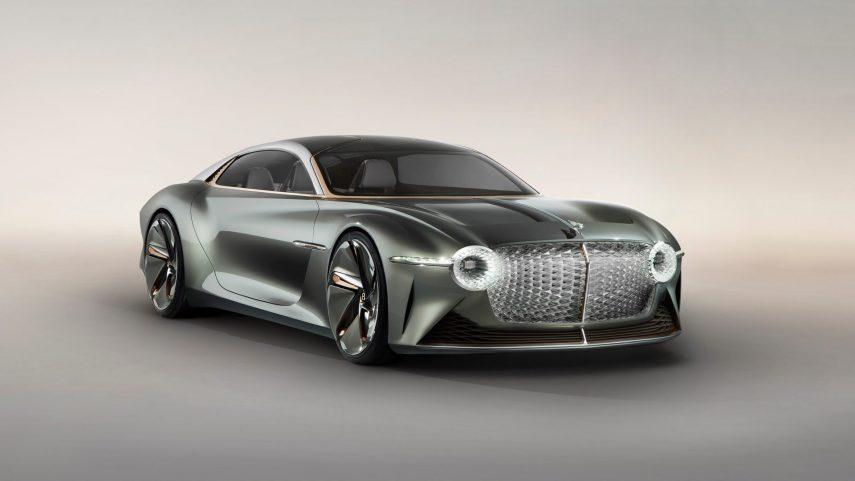 Bentley EXP 100 GT, anticipando el futuro de los gran turismo