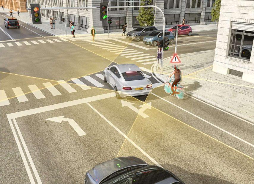 El nuevo radar de Continental prevé reducir los accidentes con ciclistas y peatones