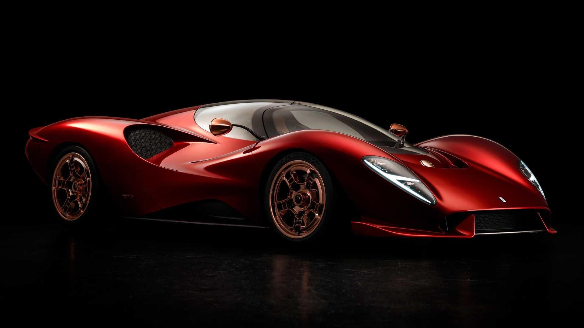 De Tomaso P72: nuevos detalles del revivir de la marca