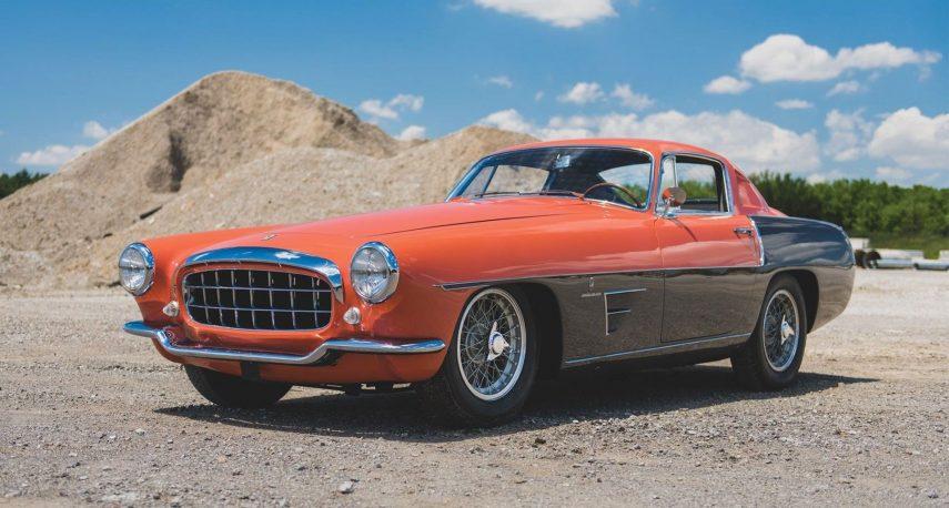 A subasta un Ferrari 375 MM Coupe Speciale de 1955 carrozado por Ghia
