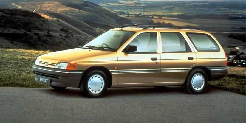 Coche del día: Ford Escort Nomade 1.6 (Mk.V)