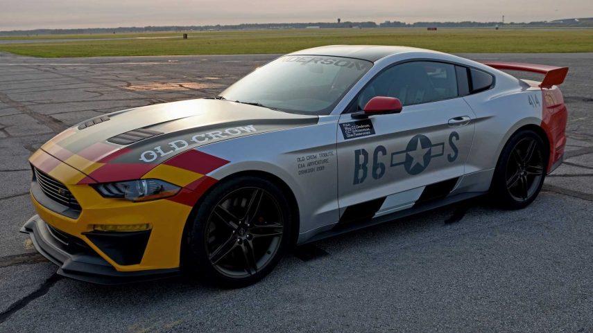"""Ford Mustang GT """"Old Crow"""", 710 CV que homenajean un gran pasado aéreo"""