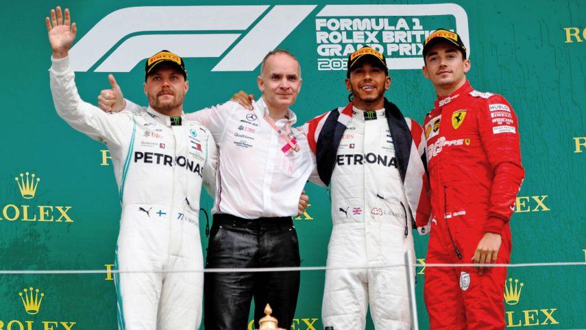 GP de Gran Bretaña: Victoria de Hamilton en una carrera épica