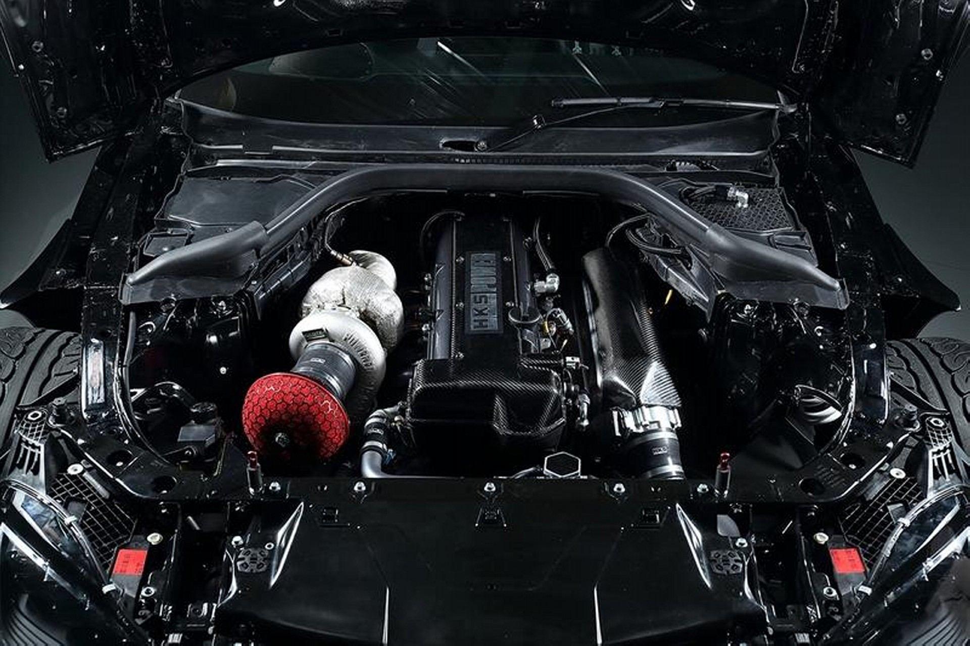 HKS Toyota Supra Drift Car (3)