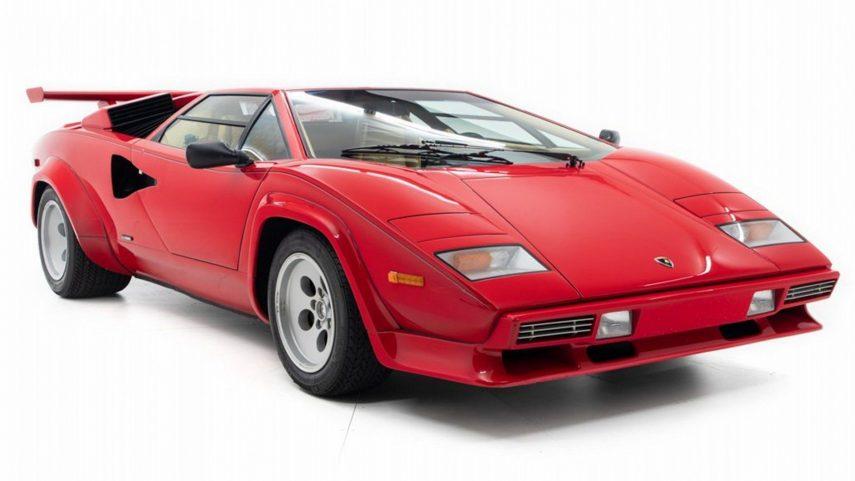 Si quieres un Lamborghini Countach muy especial, este puede ser el ejemplar ideal