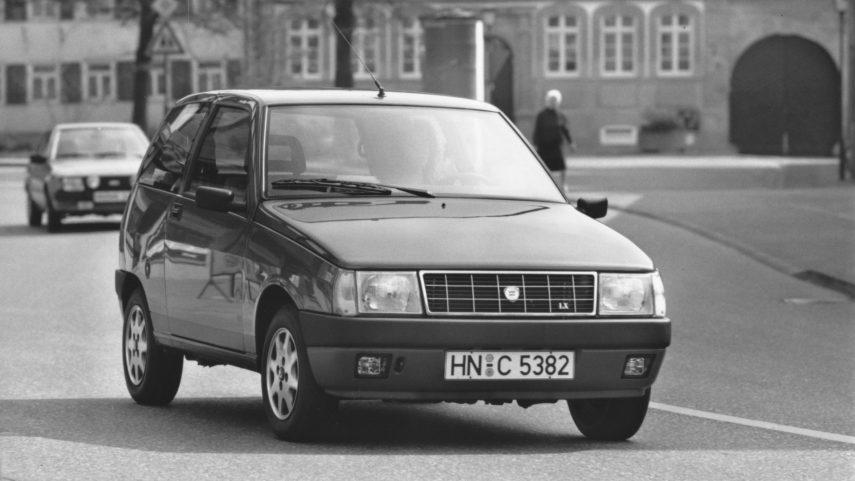 Coche del día: Lancia Y10 Selectronic