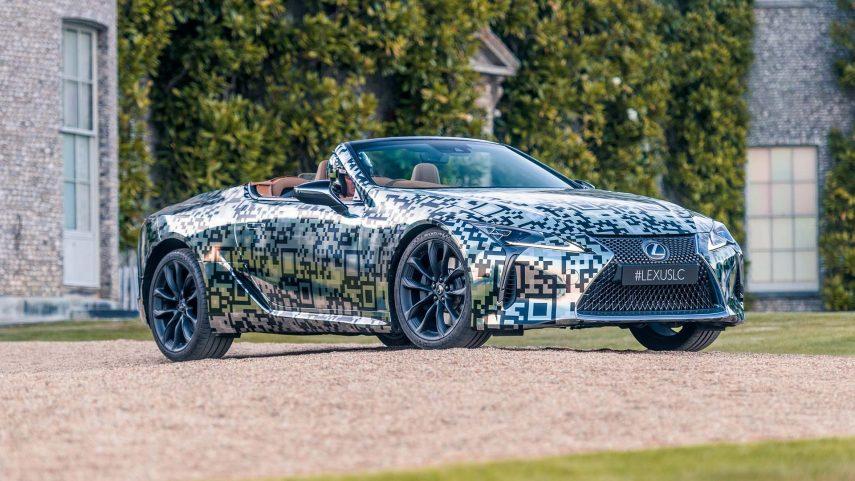 Se confirma la producción del Lexus LC Cabrio