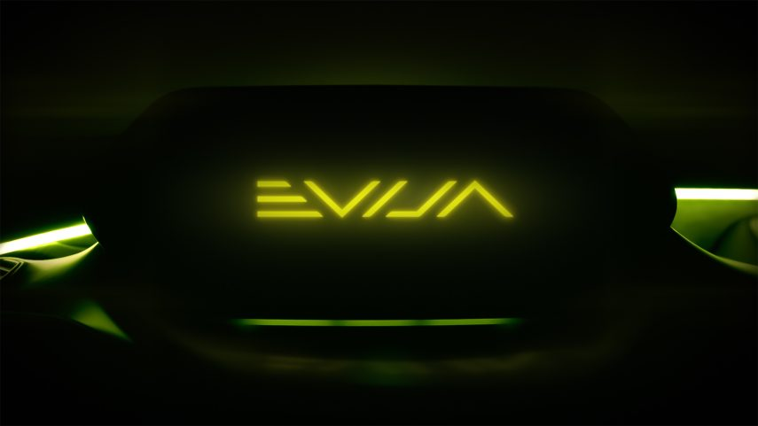 Lotus bautiza su nuevo superdeportivo eléctrico: se llamará Evija