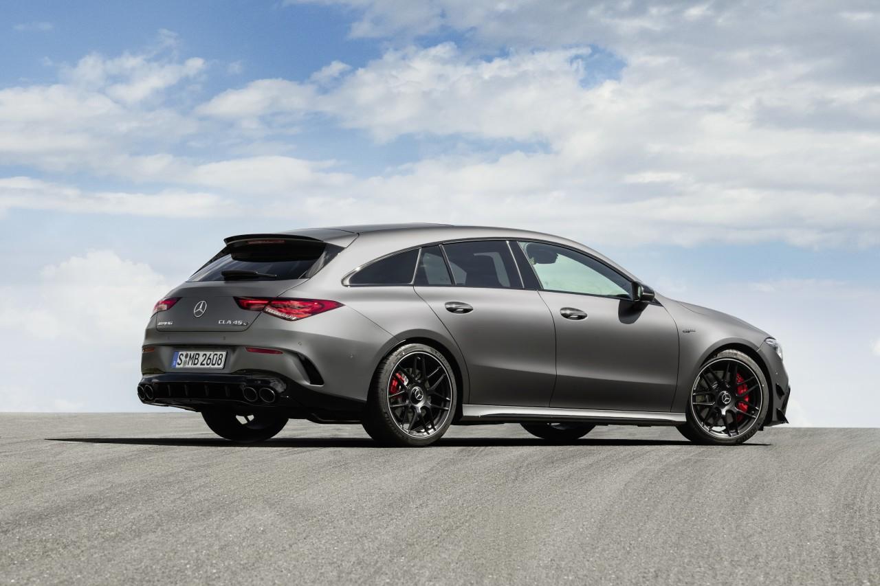 Así es el nuevo Mercedes-AMG CLA 45 4Matic+ Shooting Brake