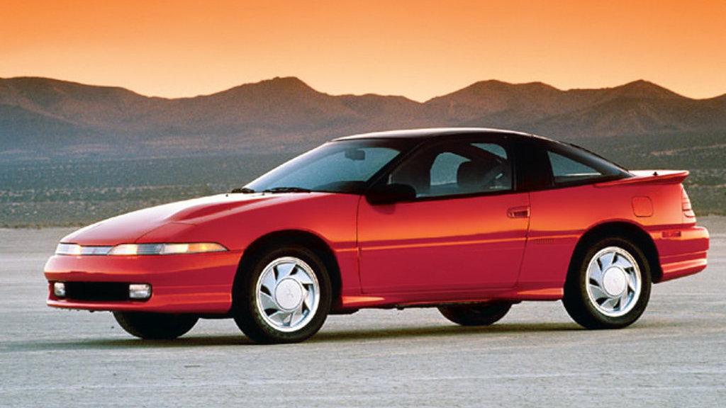 Coche del día: Mitsubishi Eclipse GSX Turbo (1G)