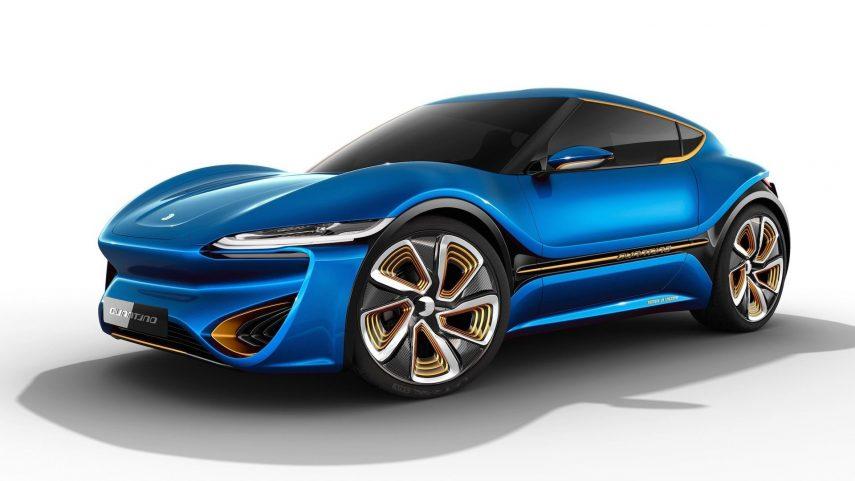NanoFlowcell Quantino 48Volt, el coche eléctrico que supuestamente solo necesita agua salada