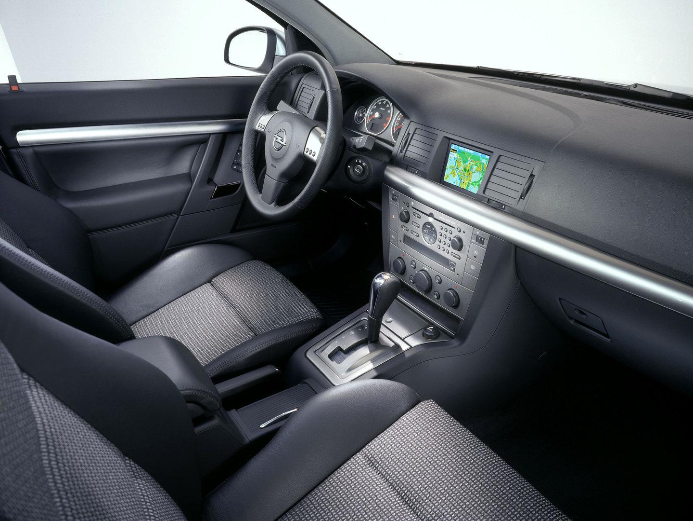 Interior del Opel Signum 3.2 V6