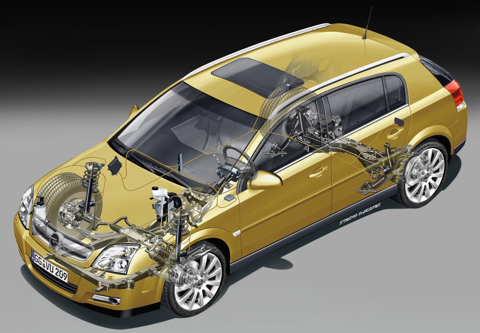 Opel Signum esquema