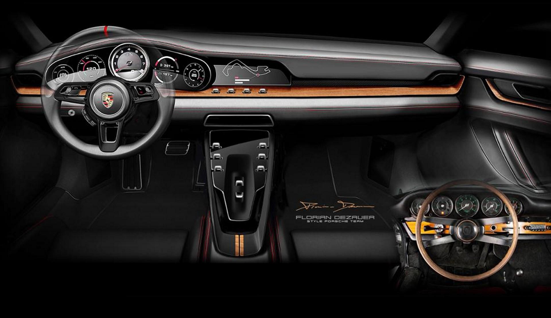 Porsche quiere hacerte sentir nostálgico con su división Heritage Design