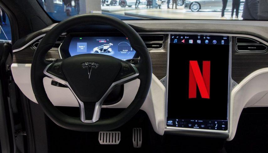 Netflix y YouTube llegarán a la gran pantalla de los coches Tesla