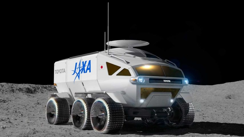 Toyota y JAXA colaborarán en el desarrollo de un rover lunar