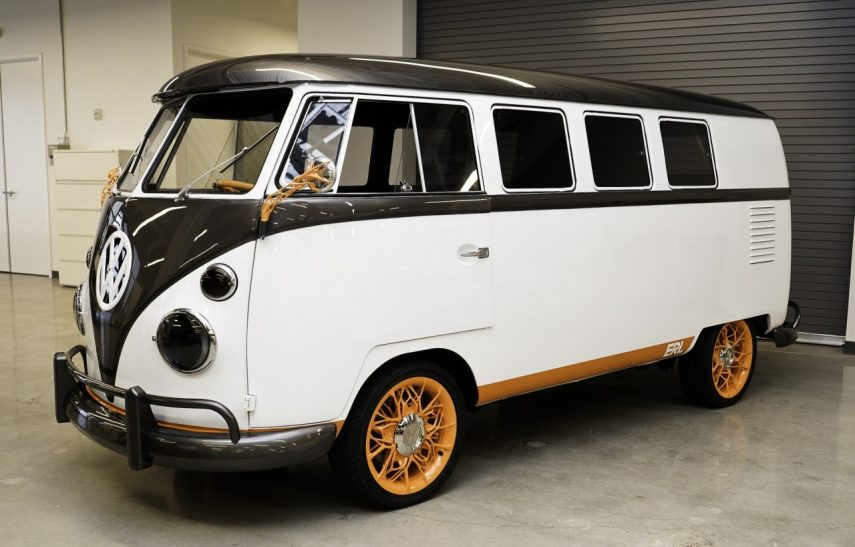 Volkswagen Type 20, el microbús más vintage se pasa a la electricidad