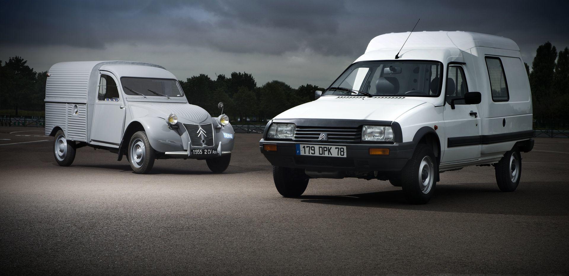Citroën 2CV AZU y C15