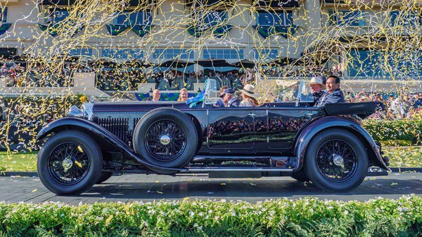 Este Bentley 8 Litre de 1931 ganó el Concours D'Elegance de Pebble Beach 2019