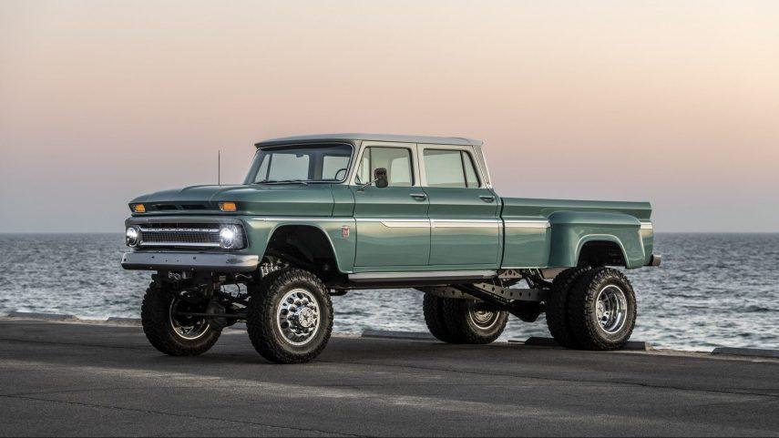 Chevrolet «Ponderosa», auténtico poderío estadounidense