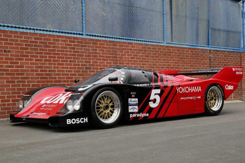 Un Porsche 962 en venta no es algo que se vea todos los días