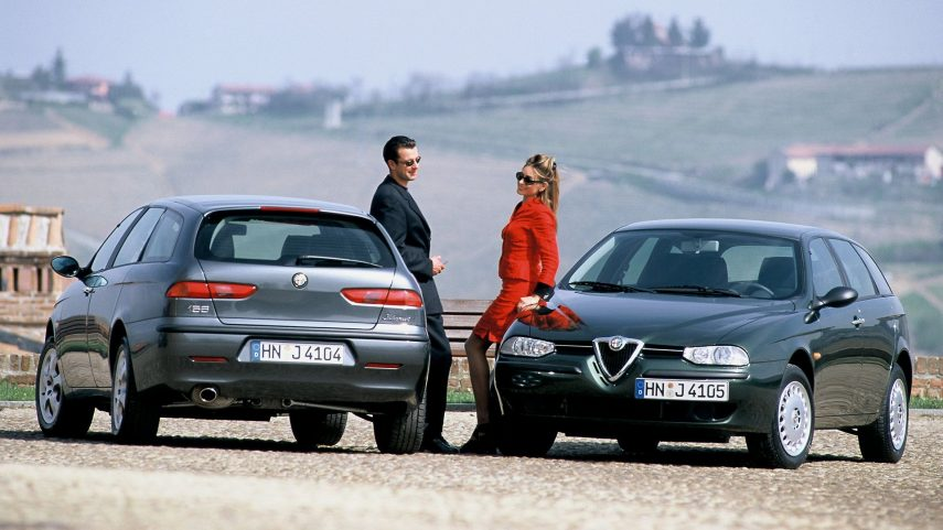 Coche del día: Alfa Romeo 156 Sportwagon 2.4 JTD
